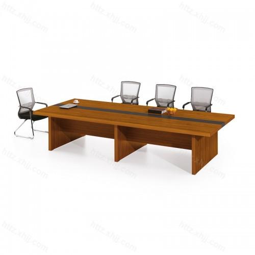 小型实木培训桌长方形办公桌洽谈桌22