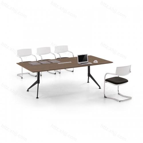 创意小型培训桌长方形办公桌洽谈桌23