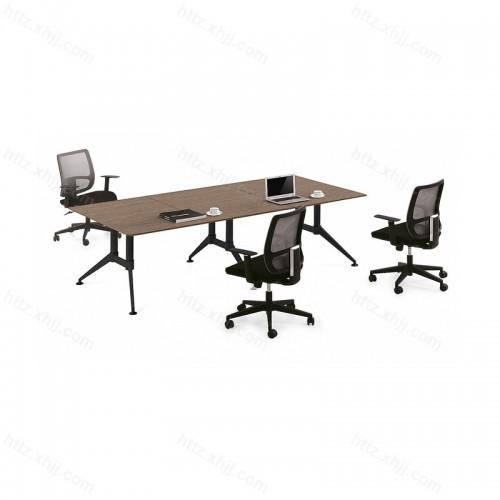 创意小型培训桌长方形会议桌洽谈桌24
