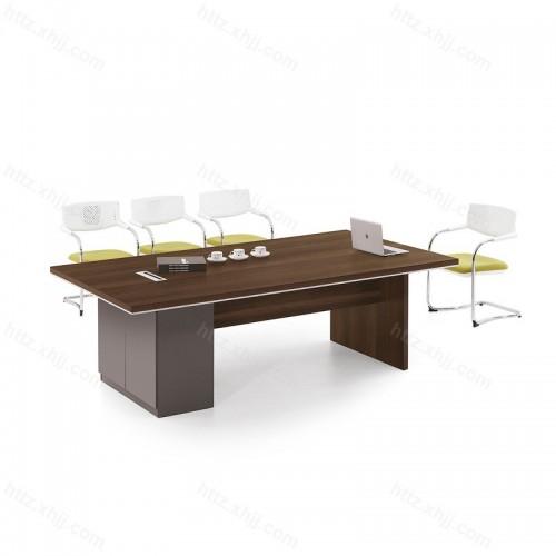 办公简约现代商务洽谈桌办公桌椅25