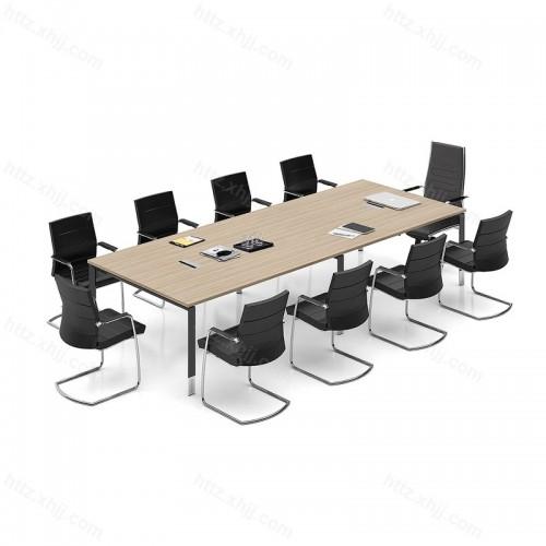 简约现代大型长条桌商务洽谈桌会议桌32