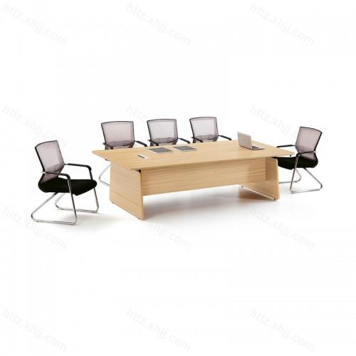 简约现代培训桌商务洽谈桌会议桌37