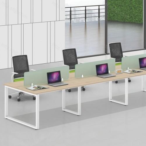 简约现代屏风办公桌01