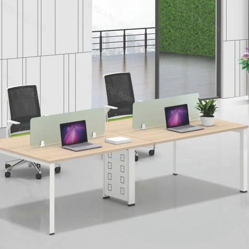 简约现代屏风工作办公桌 电脑桌08