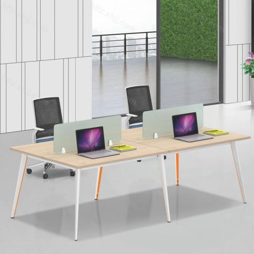 简约现代二人位屏风办公桌电脑桌19