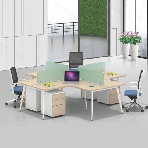 简约现代屏风办公桌电脑桌20