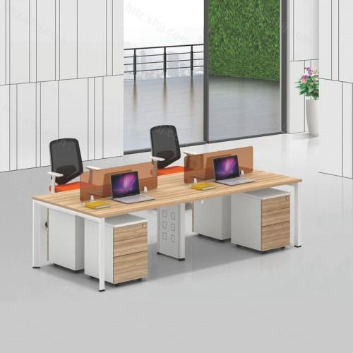 简约现代屏风办公桌电脑桌23