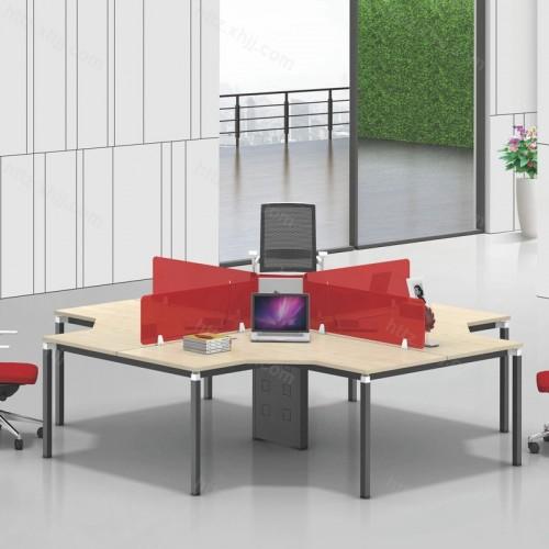 简约现代时尚屏风办公桌电脑桌24