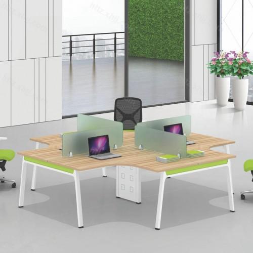 简约现代屏风办公桌30