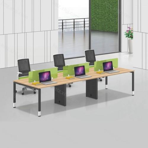 职员六人位屏风办公桌电脑桌35