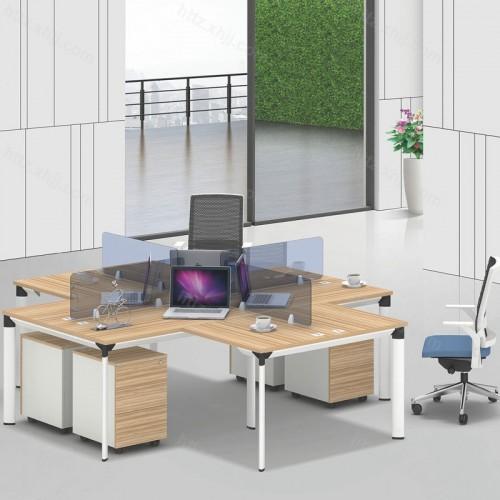 简约现代屏风办公桌36