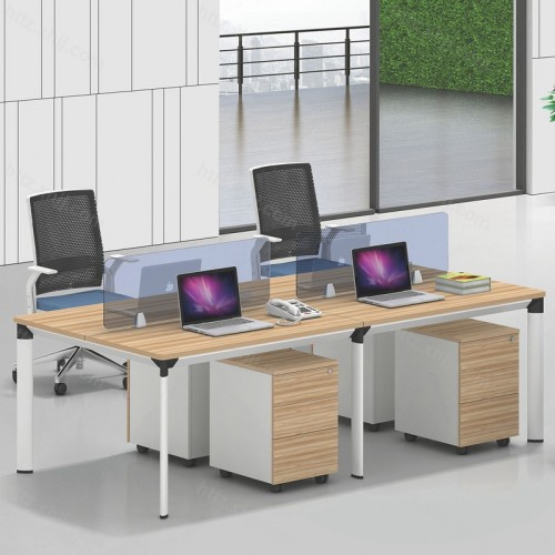 简约现代屏风办公桌电脑桌37