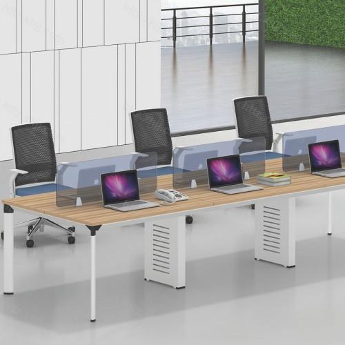 简约现代员工屏风办公桌电脑桌38