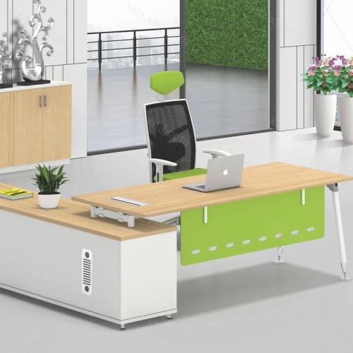 简约现代大班台经理桌电脑桌08