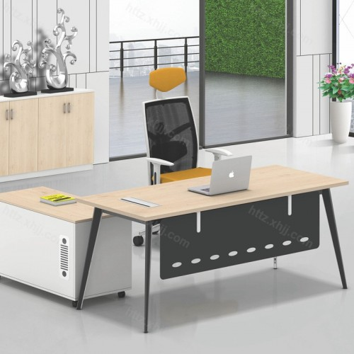 简约现代主管桌总裁经理桌老板办公桌14