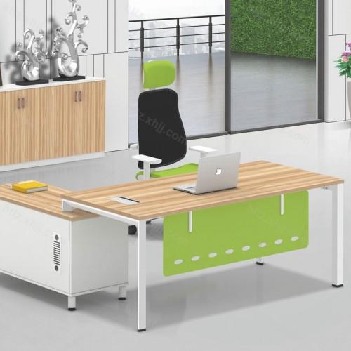 简约现代主管桌经理桌老板办公桌带文件柜16