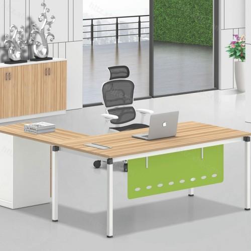 简约现代主管桌经理桌老板办公桌带储物柜17