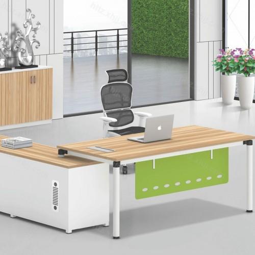 简约现代主管桌经理桌单人位电脑桌20