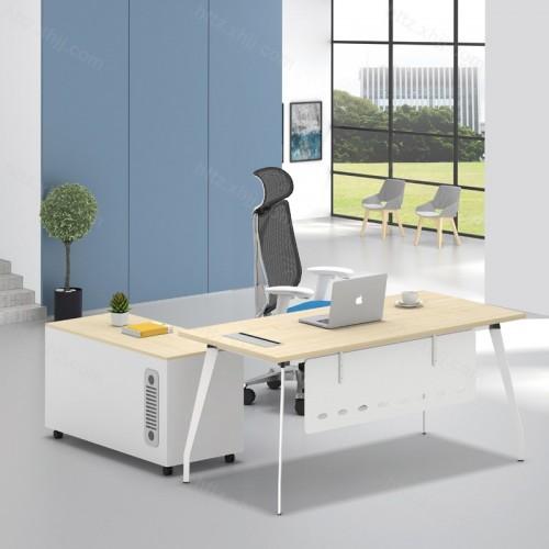 简洁现代组合单人电脑主管经理办公桌31