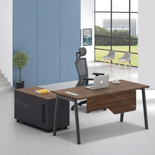 简洁现代单人电脑主管经理办公桌32