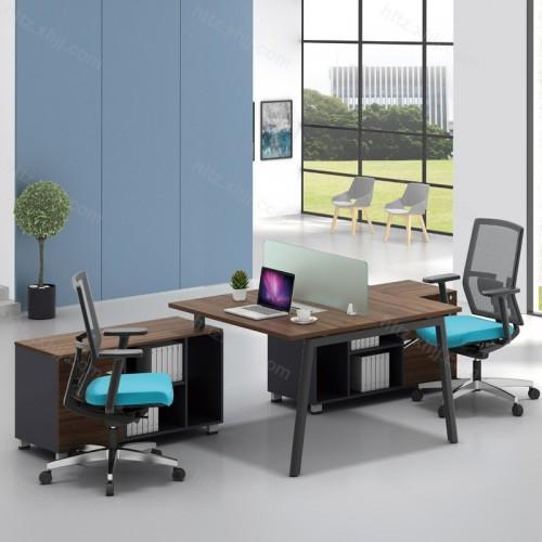 简洁现代屏风职员办公桌34