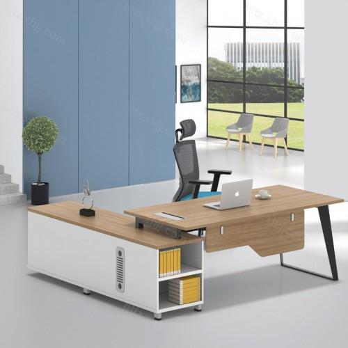 简洁现代办公桌老板主管办公桌37