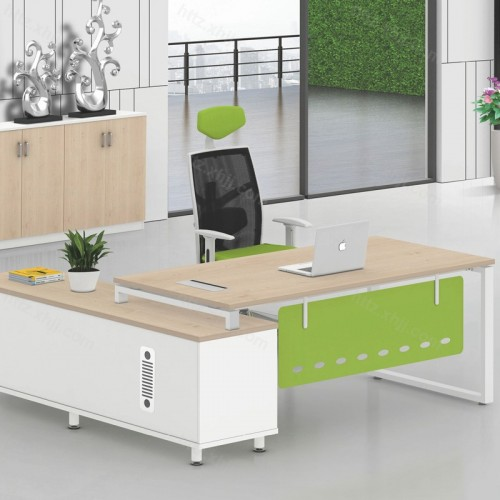办公总裁老板桌简约现代单人经济型办公桌01