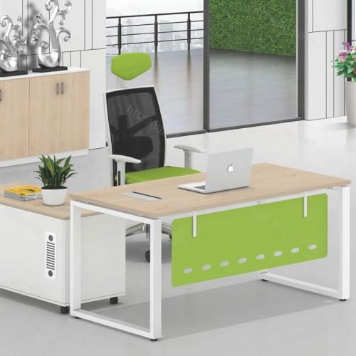办公总裁老板桌简约现代单人经济型办公桌02