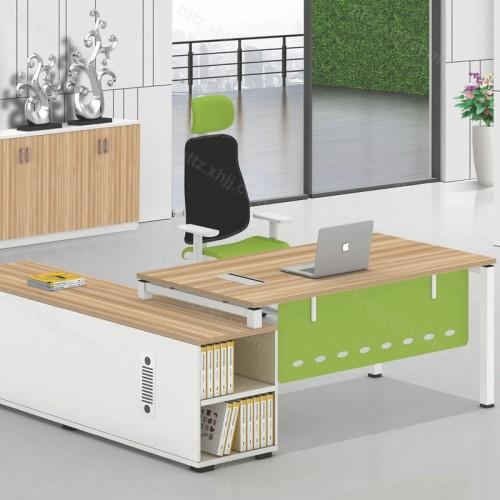 简约现代经理桌主管桌老板办公桌05