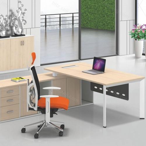 时尚办公家具老板桌简约现代经理主管桌07