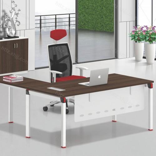 简约现代职员单人办公桌13