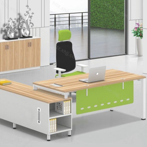办公桌老板桌简约现代主管经理桌20