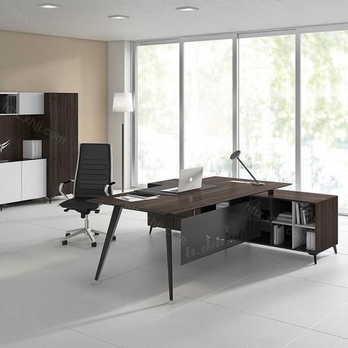 办公室经理总裁单人位简约现代电脑老板桌58