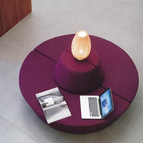公司圆型创意洽谈办公室休息区接待休闲沙发04
