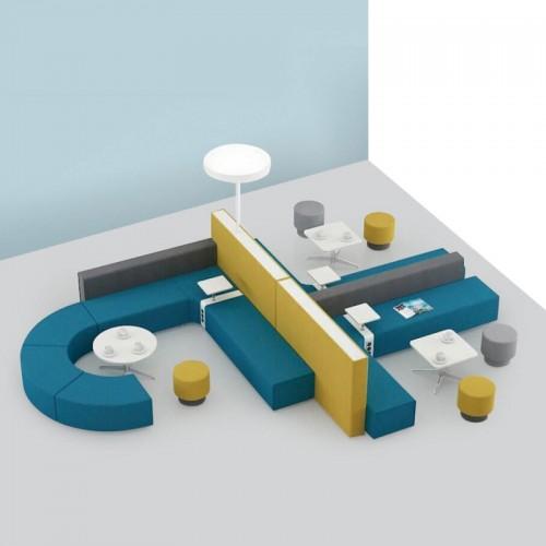 时尚创意休闲沙发办公室接待洽谈沙发07