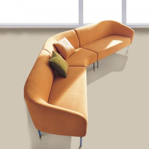 简约办公室接待休闲沙发08
