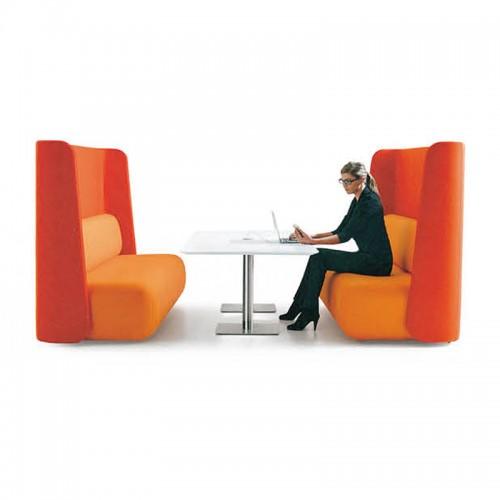简约办公室接待洽谈沙发休闲沙发11