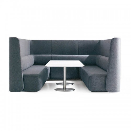 简约办公室接待洽谈沙发休闲沙发12