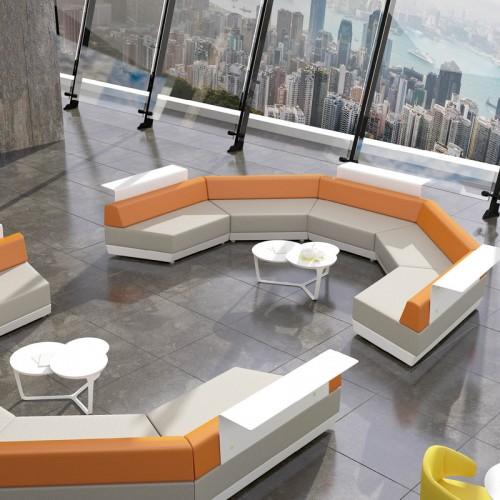 简约办公创意休闲沙发接待沙发17
