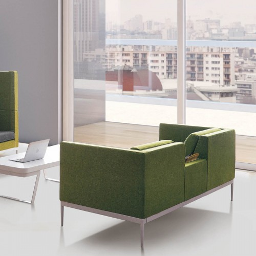 办公沙发茶几组合简约现代商务办公室沙发20