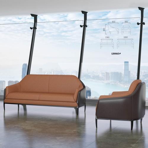 简约现代商务办公室沙发21