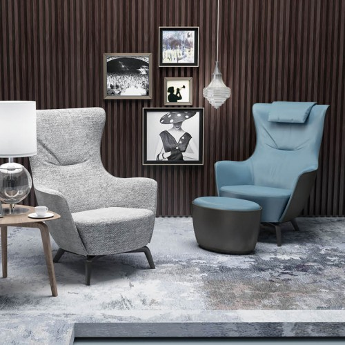 简约现代单人休闲沙发椅26