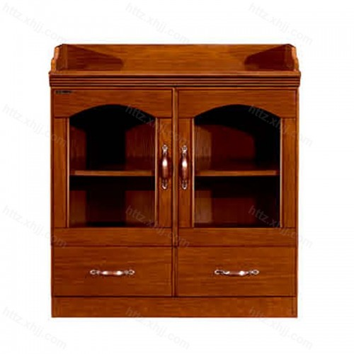 实木办公室双开门茶水柜CM 0803