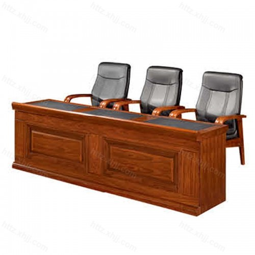 实木油漆办公会议桌条形桌培训桌CK 2407