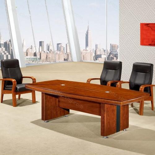 实木油漆办公会议桌培训桌CK 2401