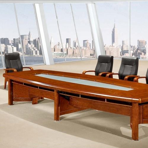 实木油漆大型办公会议桌培训桌CK 4201