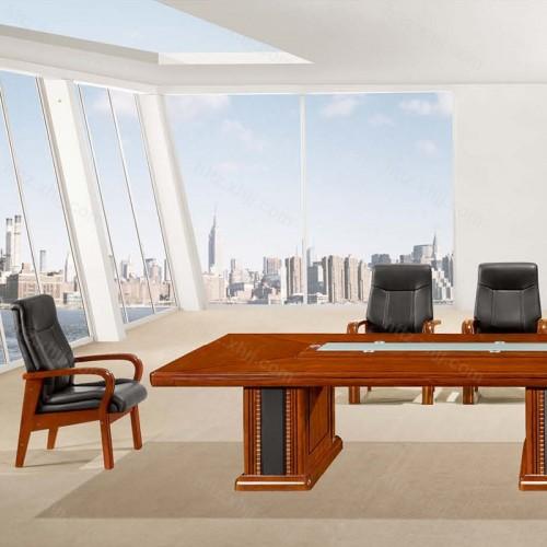 实木油漆大型办公会议桌培训桌CK 4801-1