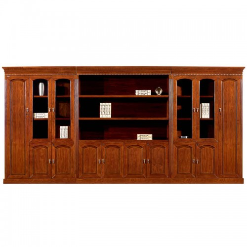 实木办公书柜办公文件柜展示柜CY3008-1