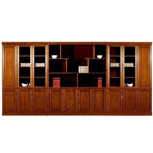 实木文件柜组合办公书柜展示柜CY3112-1