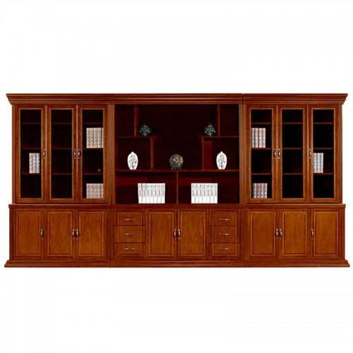 实木简约文件柜办公书柜展示柜组合CY3007-1